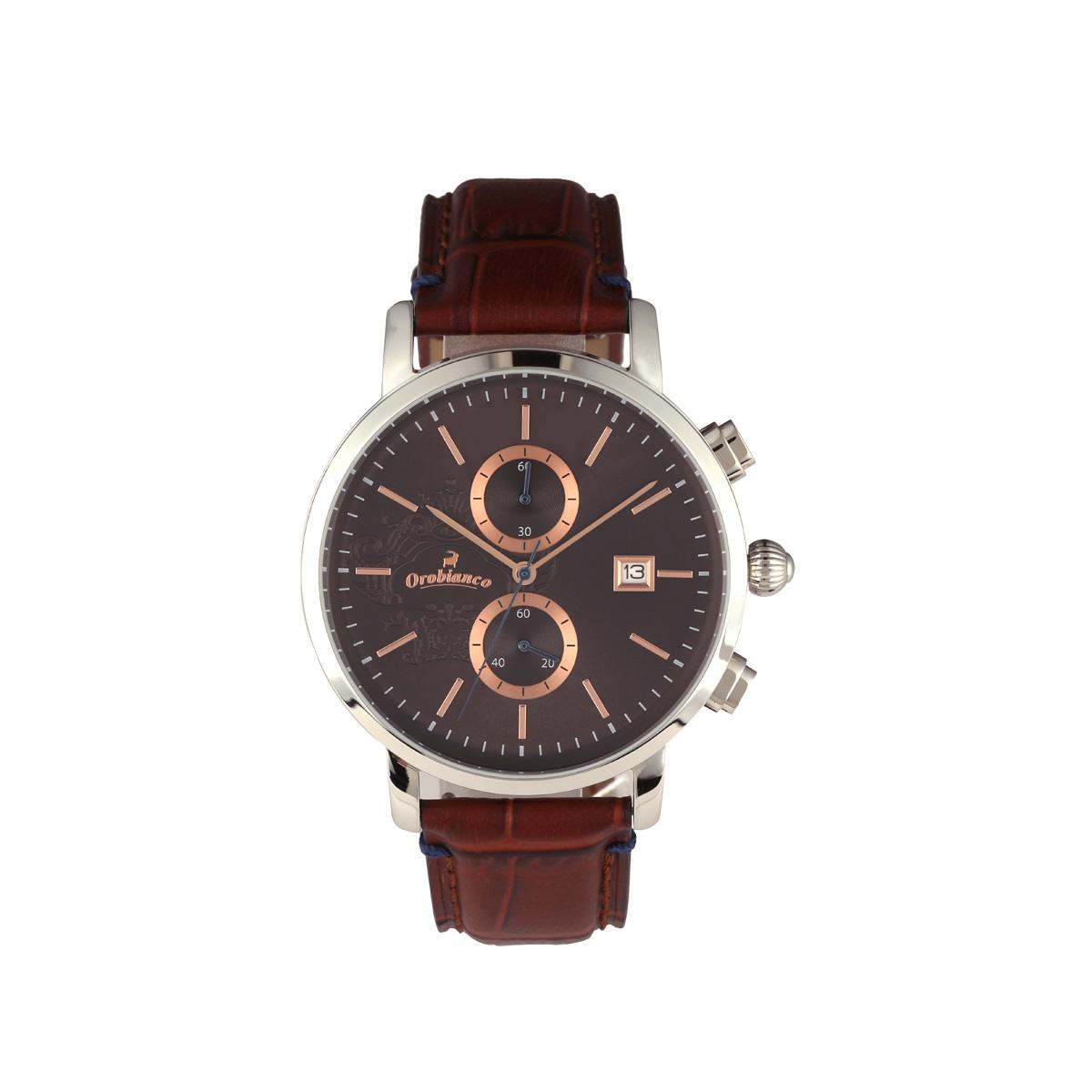 Orobianco CERTO オロビアンコ 時計 腕時計 メンズ クオーツ アナログ ブラウン OR0070-1