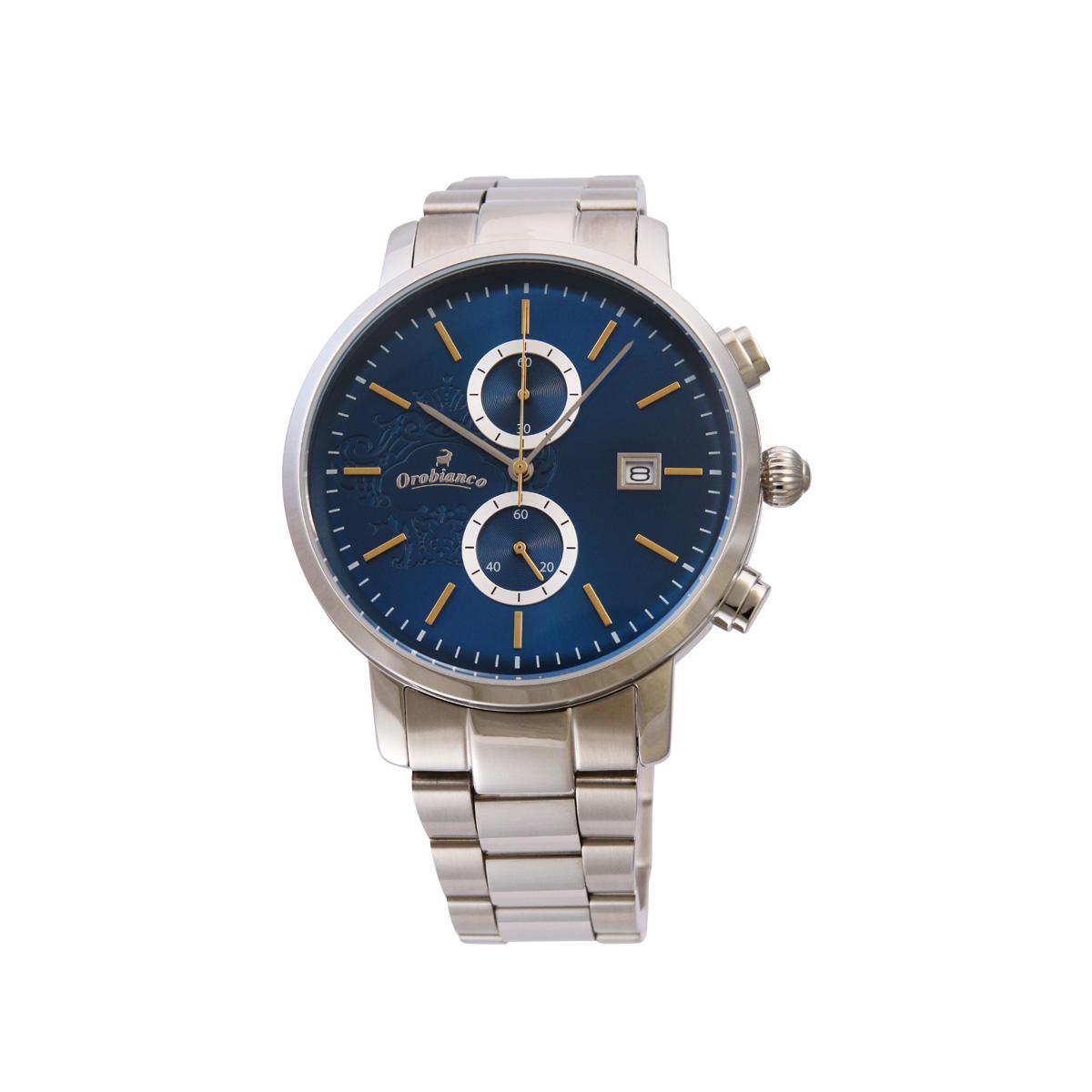 Orobianco CERTO オロビアンコ 時計 腕時計 メンズ クオーツ アナログ シルバー OR0070-502