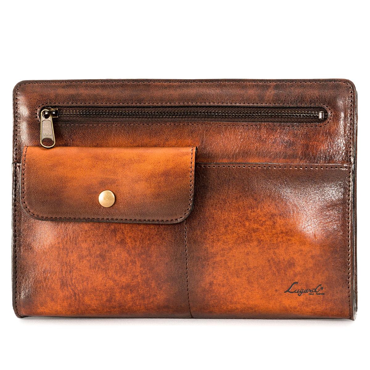 Lugard G3 CLUTCH BAG ラガード 青木鞄 ジースリー バッグ クラッチバッグ セカンドバッグ メンズ ネイビー ブラウン ボルドー 5214