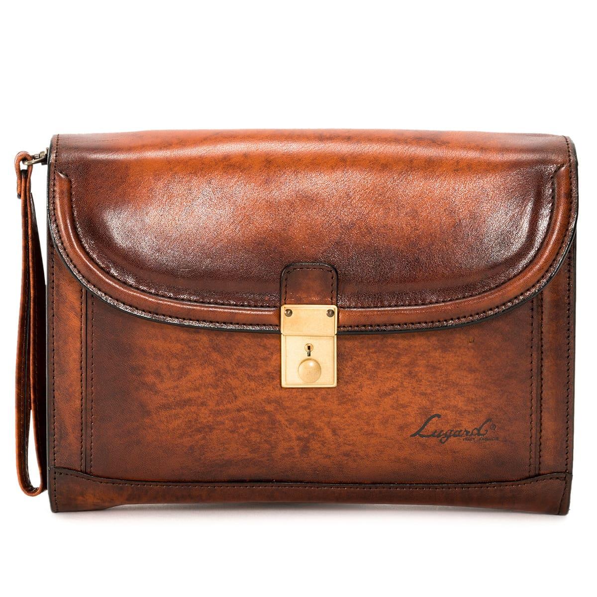Lugard ラガード 青木鞄 バッグ クラッチバッグ セカンドバッグ G3 CLUTCH BAG メンズ ジースリー 2WAY ブラウン 5217