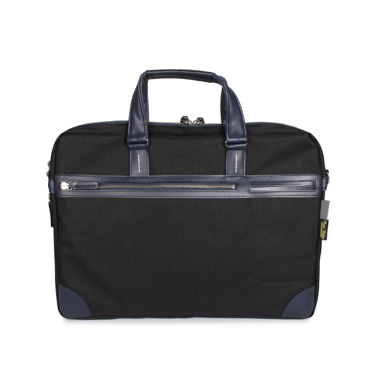 スーパーSALE 送料無料 プレム エディター PREM-EDITOR BRIEF BAG バッグ メンズ ブラック ビジネスバッグ 黒 6L お金を節約 02752 定番キャンバス ネイビー ショルダーバッグ