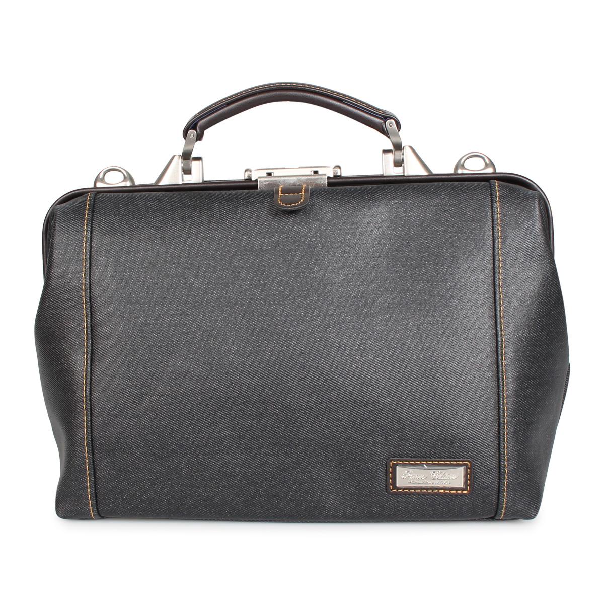 PREM-EDITOR DULLES BAG プレム エディター バッグ ビジネスバッグ ショルダーバッグ メンズ 6L ブラック ブルー 黒 02777