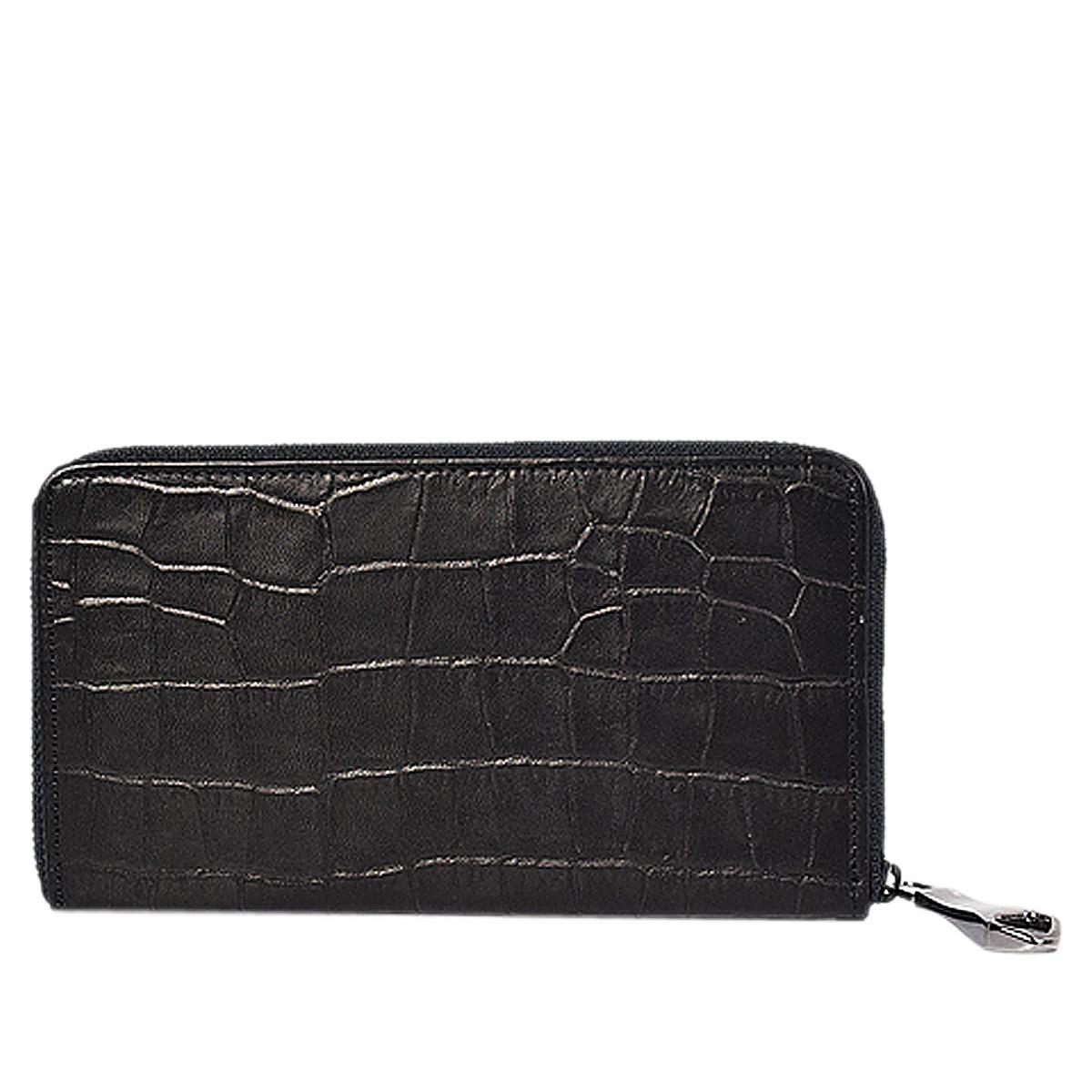 PRAY LONG WALLET プレイ 財布 長財布 メンズ ラウンドファスナー ブラック 黒 PRLW-303C