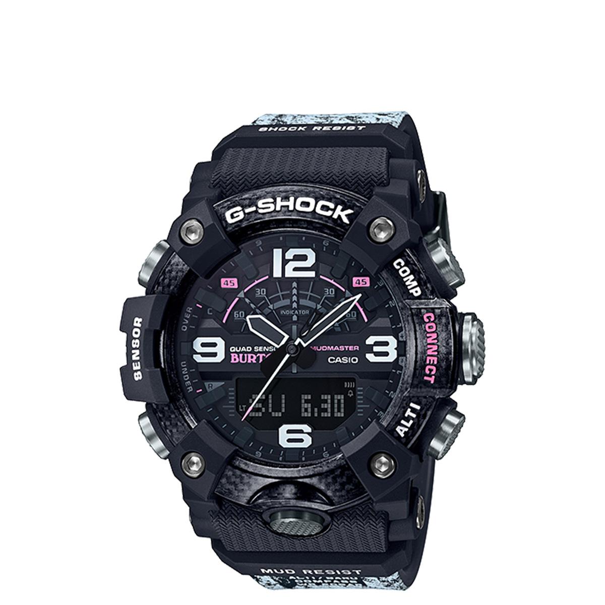 CASIO G-SHOCK BURTON カシオ 腕時計 バートン GG-B100BTN-1AJR コラボ メンズ レディース ブラック 黒