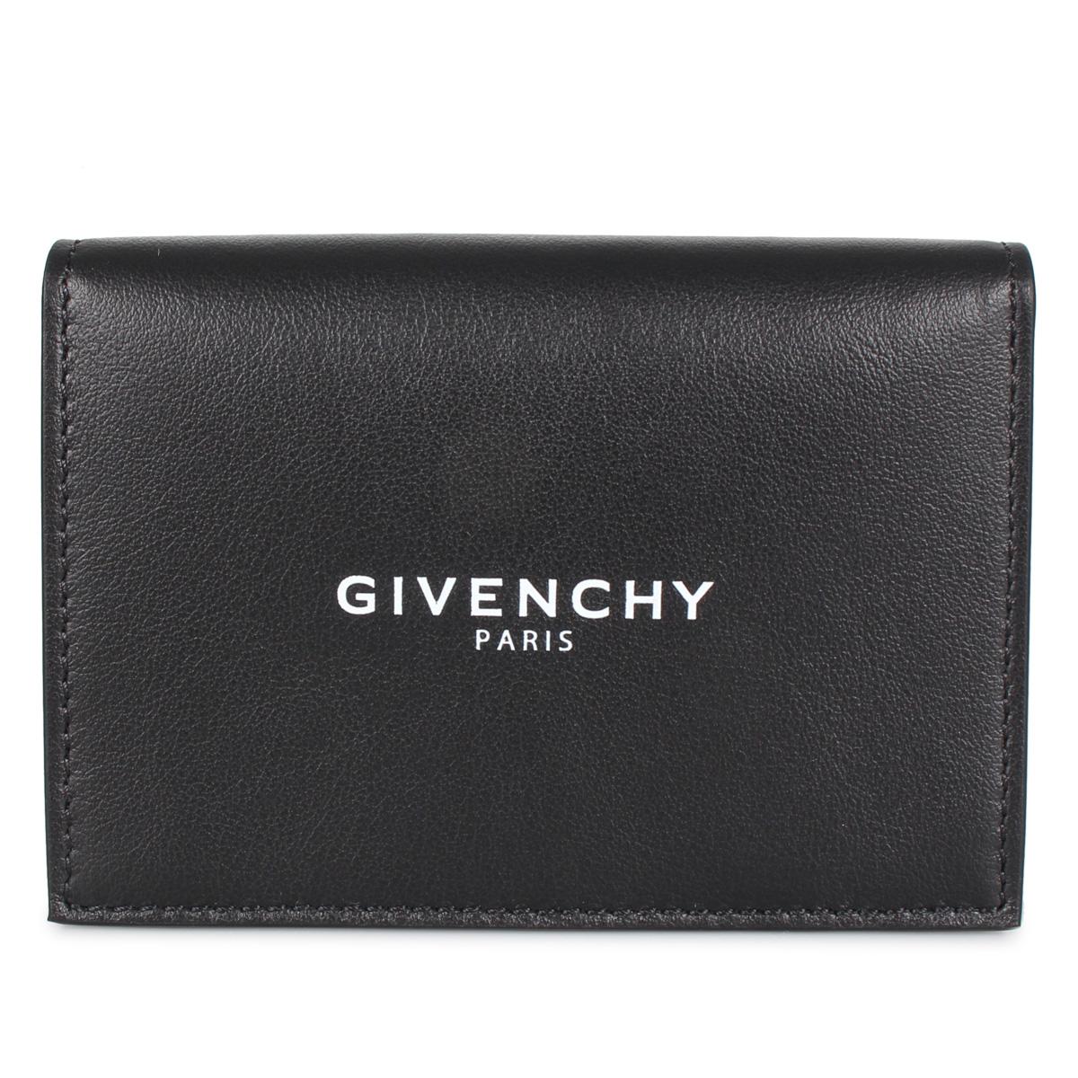 GIVENCHY CARD HOLDER ジバンシィ 名刺入れ カードケース メンズ ブラック 黒 BK6004 [3/9 新入荷]