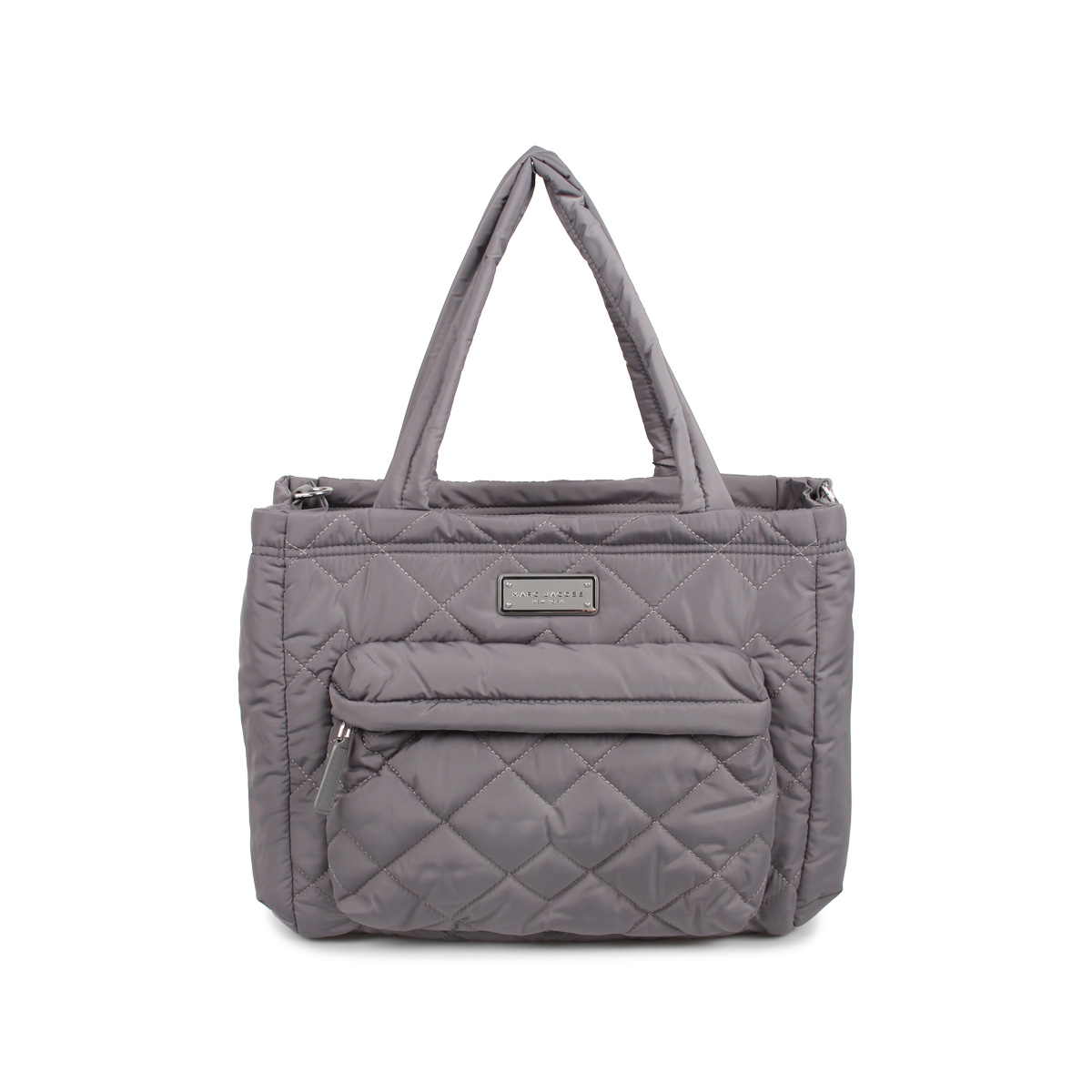 MARC JACOBS QUILTED TOTE マークジェイコブス バッグ トートバッグ ショルダー レディース グレー M0011380-097