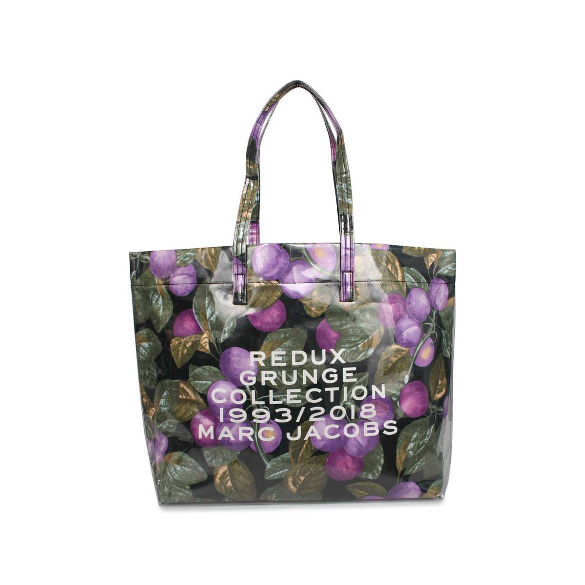 MARC JACOBS REDUX GRUNGE FRUIT TOTE マークジェイコブス バッグ トートバッグ レディース パープル M0014691-501 [3/10 新入荷]