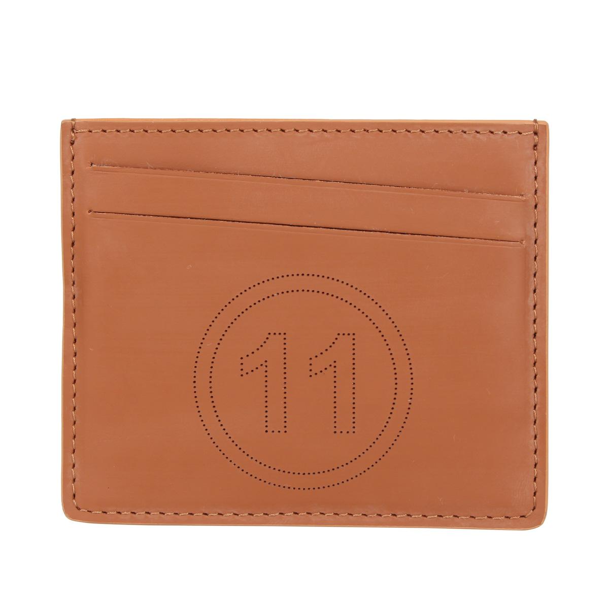 MAISON MARGIELA CARD CASE メゾンマルジェラ カードケース 名刺入れ 定期入れ メンズ レディース ブラウン S35UI0432-H4200