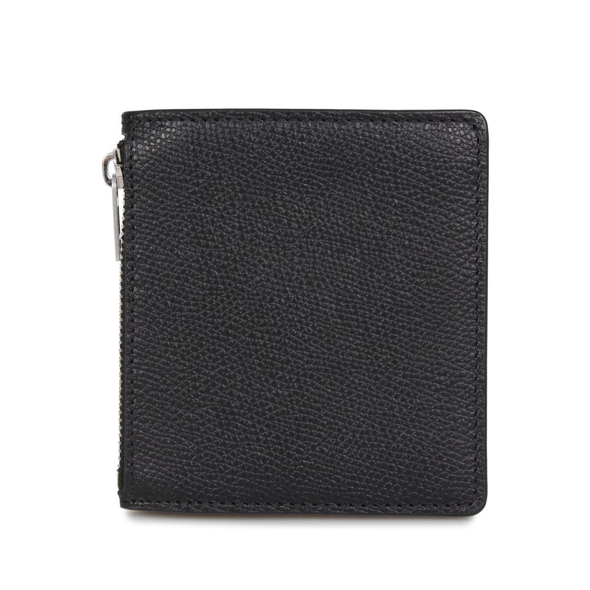 MAISON MARGIELA WALLET メゾンマルジェラ 財布 二つ折り メンズ レディース ブラック 黒 S35UI0448-T8013 [3/4 新入荷]