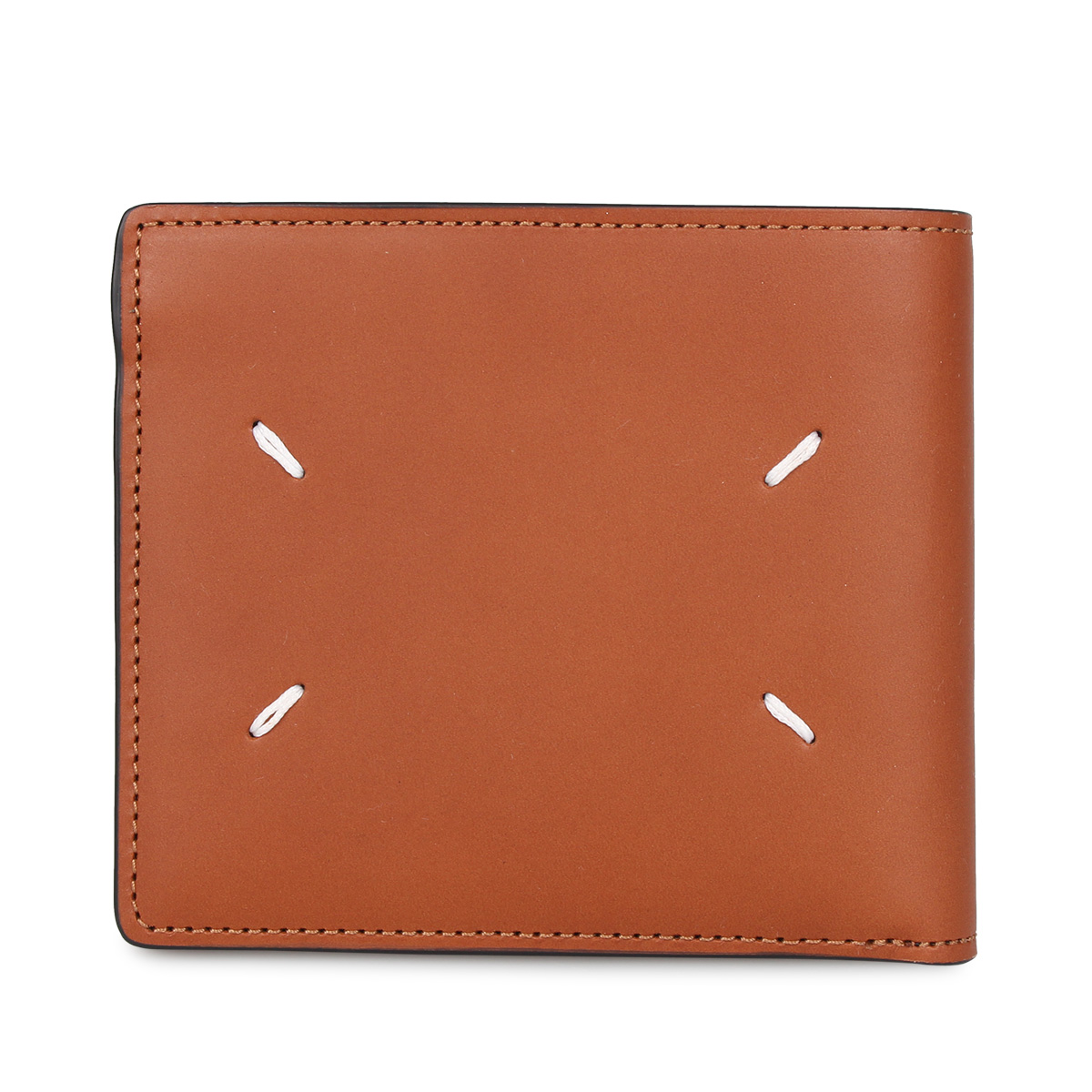 MAISON MARGIELA WALLET メゾンマルジェラ 財布 二つ折り メンズ レディース ブラウン S55UI0205-T2262 [3/4 新入荷]