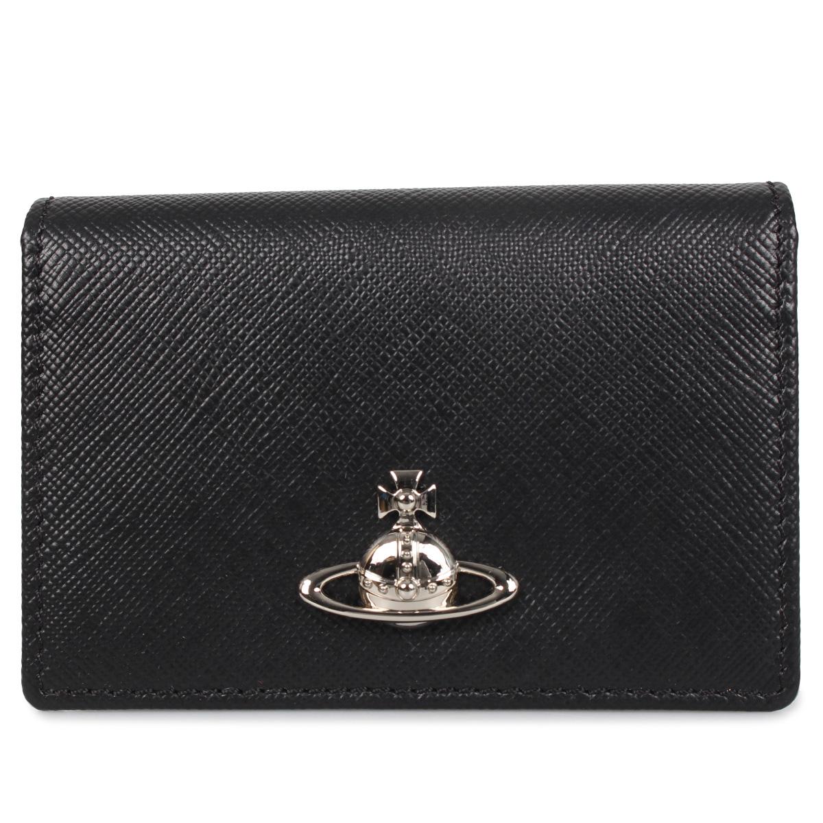 Vivienne Westwood BALMORAL CARD HOLDER ヴィヴィアンウエストウッド パスケース カードケース ID 定期入れ メンズ レディース ブラック 黒 51110015 [3/12 新入荷]