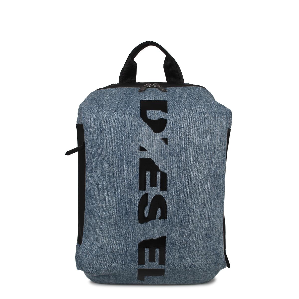 DIESEL D-SUBTORYAL BACKPACK ディーゼル リュック バッグ バックパック メンズ レディース ブルー X05783P1826 [4/20 新入荷]