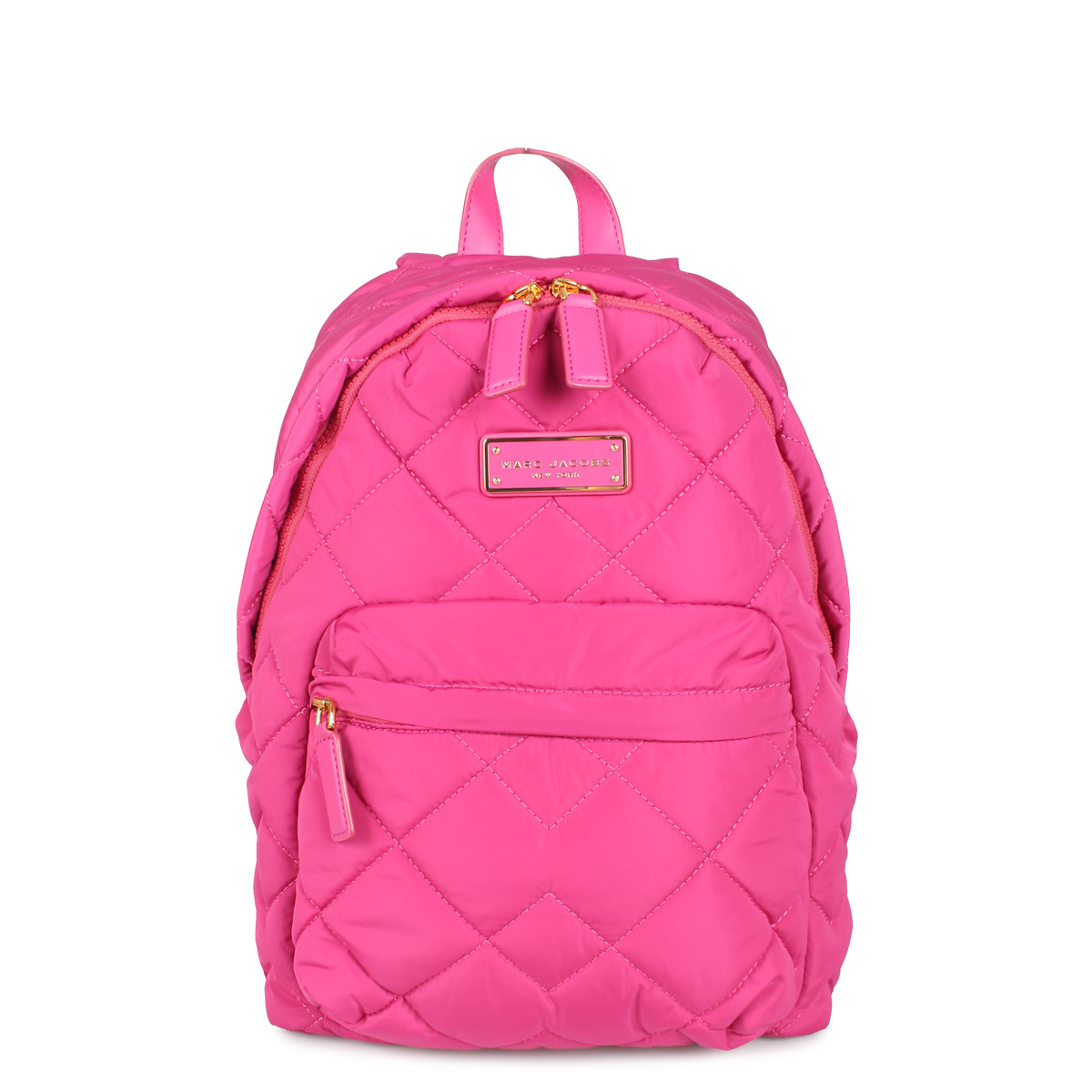MARC JACOBS QUILTED BACKPACK マークジェイコブス リュック バッグ バックパック レディース ピンク M0011321-957 [4/27 新入荷]