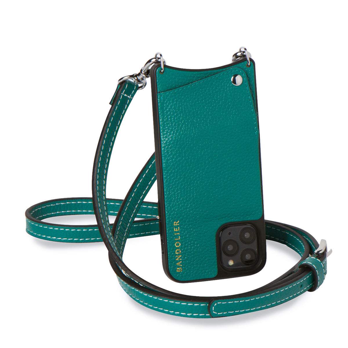 BANDOLIER バンドリヤー iPhone XS X ケース スマホ 携帯 ショルダー アイフォン ケイシー メンズ レディース CASEY グリーン 10CAS