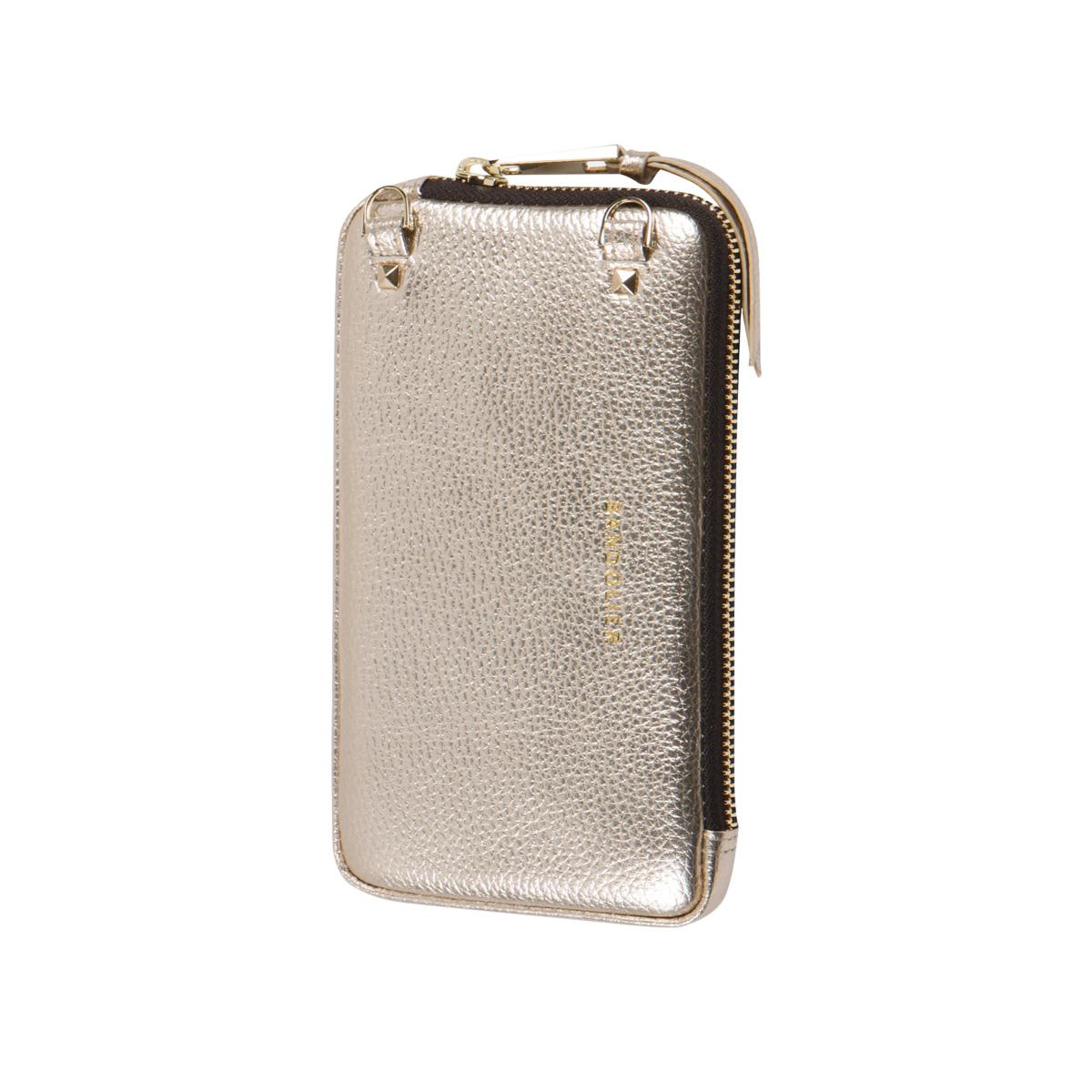BANDOLIER バンドリヤー ポーチ エキスパンデッド リッチゴールド スマホ 携帯 メンズ レディース EXPANDED RICH GOLD POUCH ゴールド 21GRA