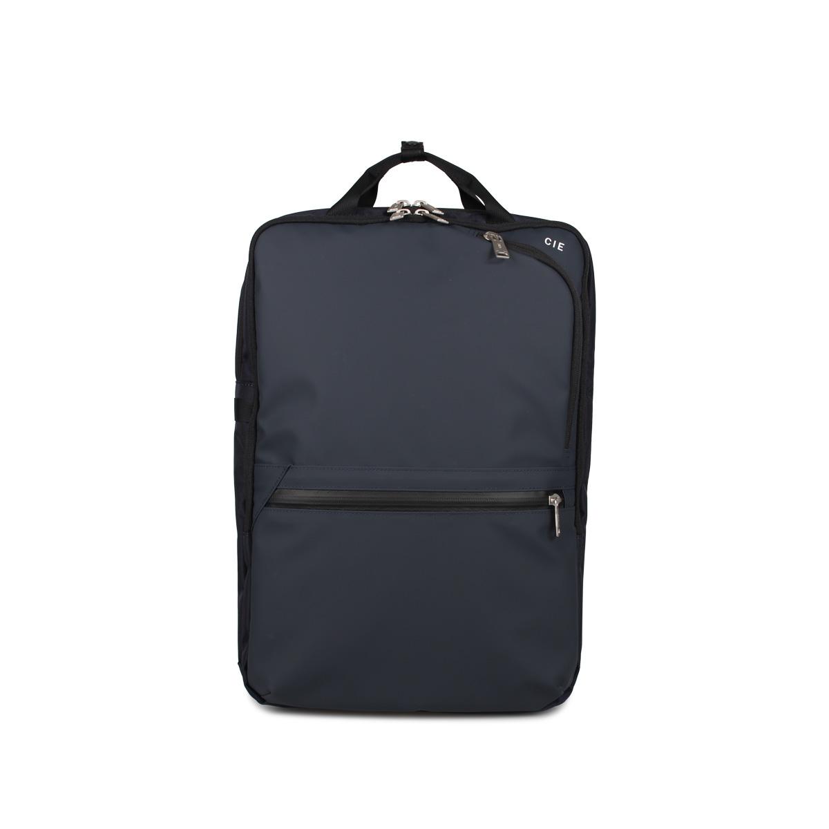 CIE VARIOUS シー リュック バッグ バックパック メンズ レディース ブラック グレー ネイビー 黒 021804 [4/30 新入荷]