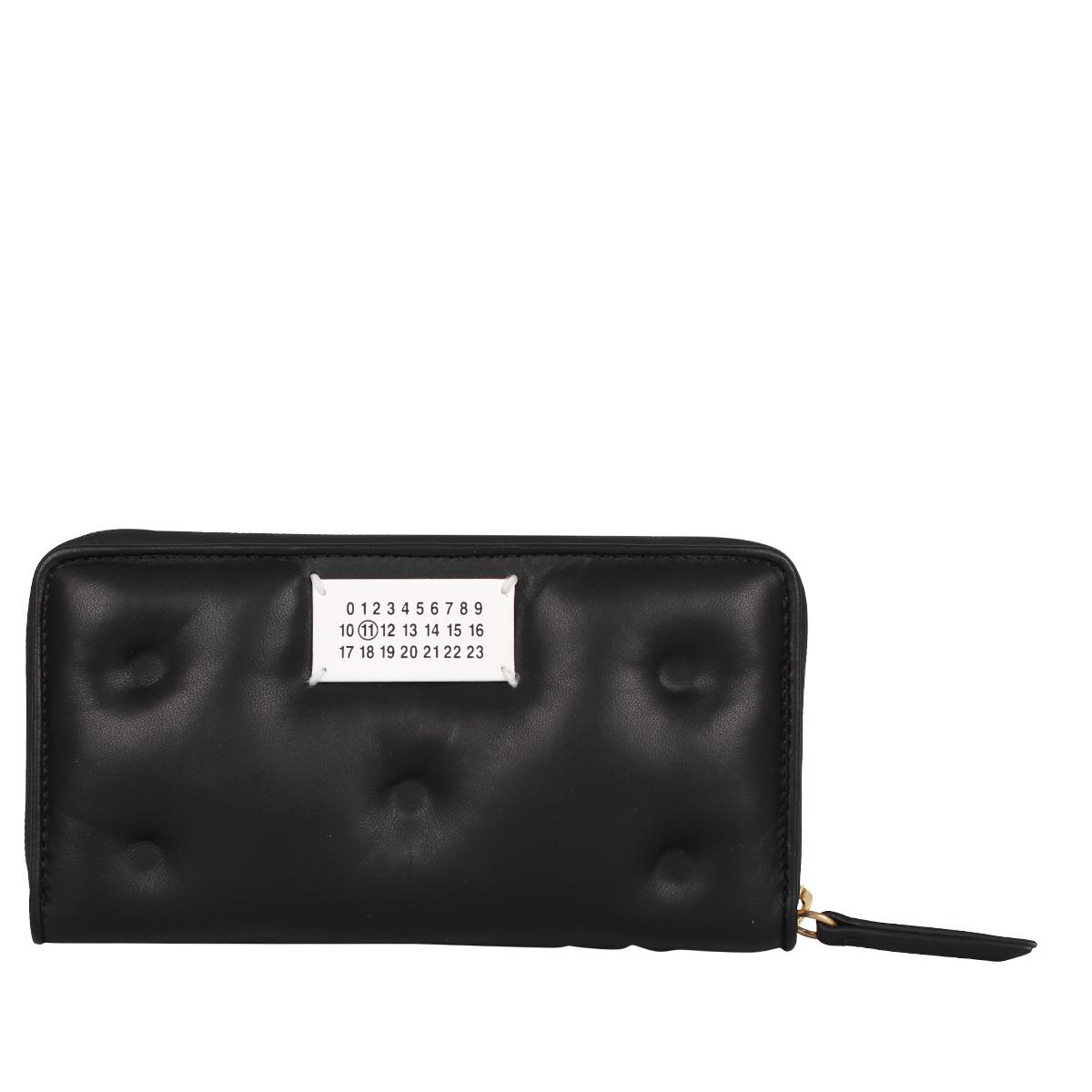 MAISON MARGIELA LONG WALLET メゾンマルジェラ 財布 長財布 メンズ レディース ラウンドファスナー ブラック 黒 S56UI0110 [4/15 新入荷]