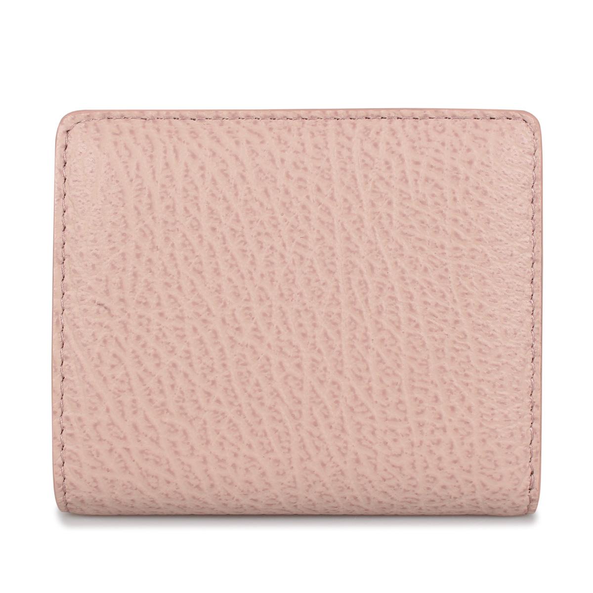 MAISON MARGIELA WALLET メゾンマルジェラ 財布 二つ折り ミニ財布 レディース ピンク S56UI0140 [4/15 新入荷]