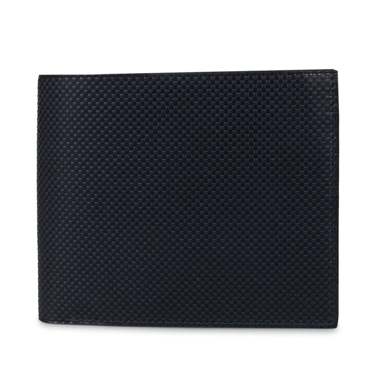 HIROAN CROISE ヒロアン 財布 二つ折り メンズ 博庵 ブラック ネイビー 黒 HM-80129