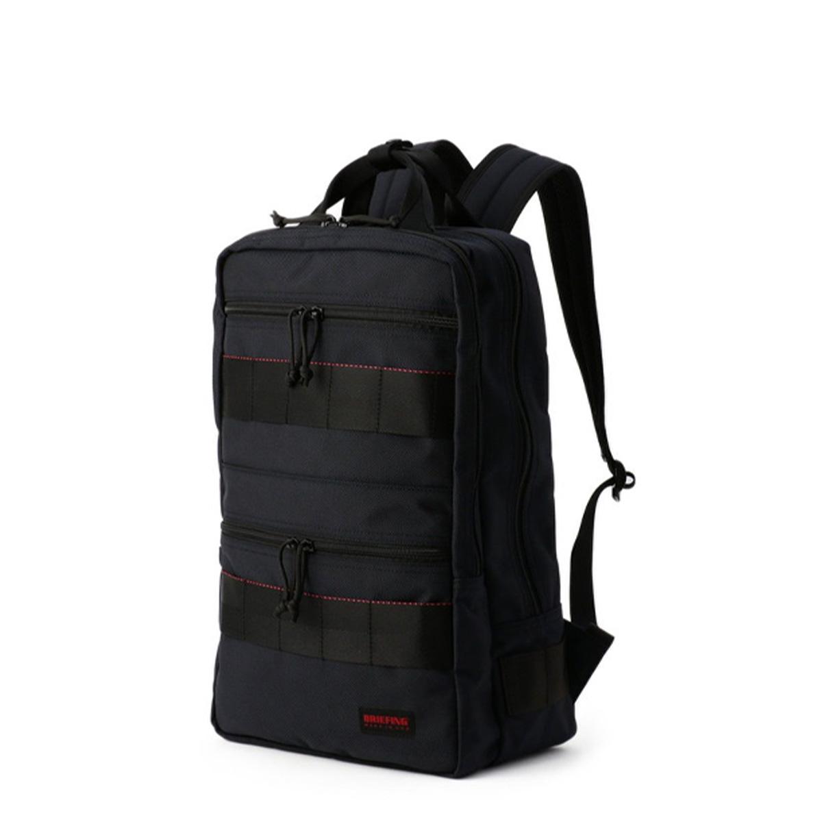 BRIEFING SQ PACK ブリーフィング リュック バッグ バックパック メンズ 21.5L ブラック ネイビー 黒 BRF298219