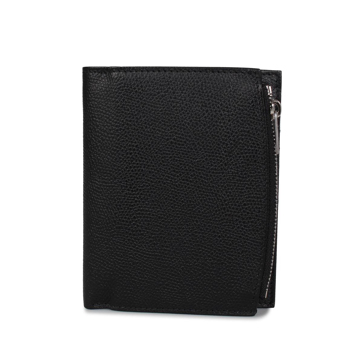 MAISON MARGIELA WALLET メゾンマルジェラ 財布 二つ折り メンズ レディース ブラック 黒 S35UI0437 [7/15 新入荷]