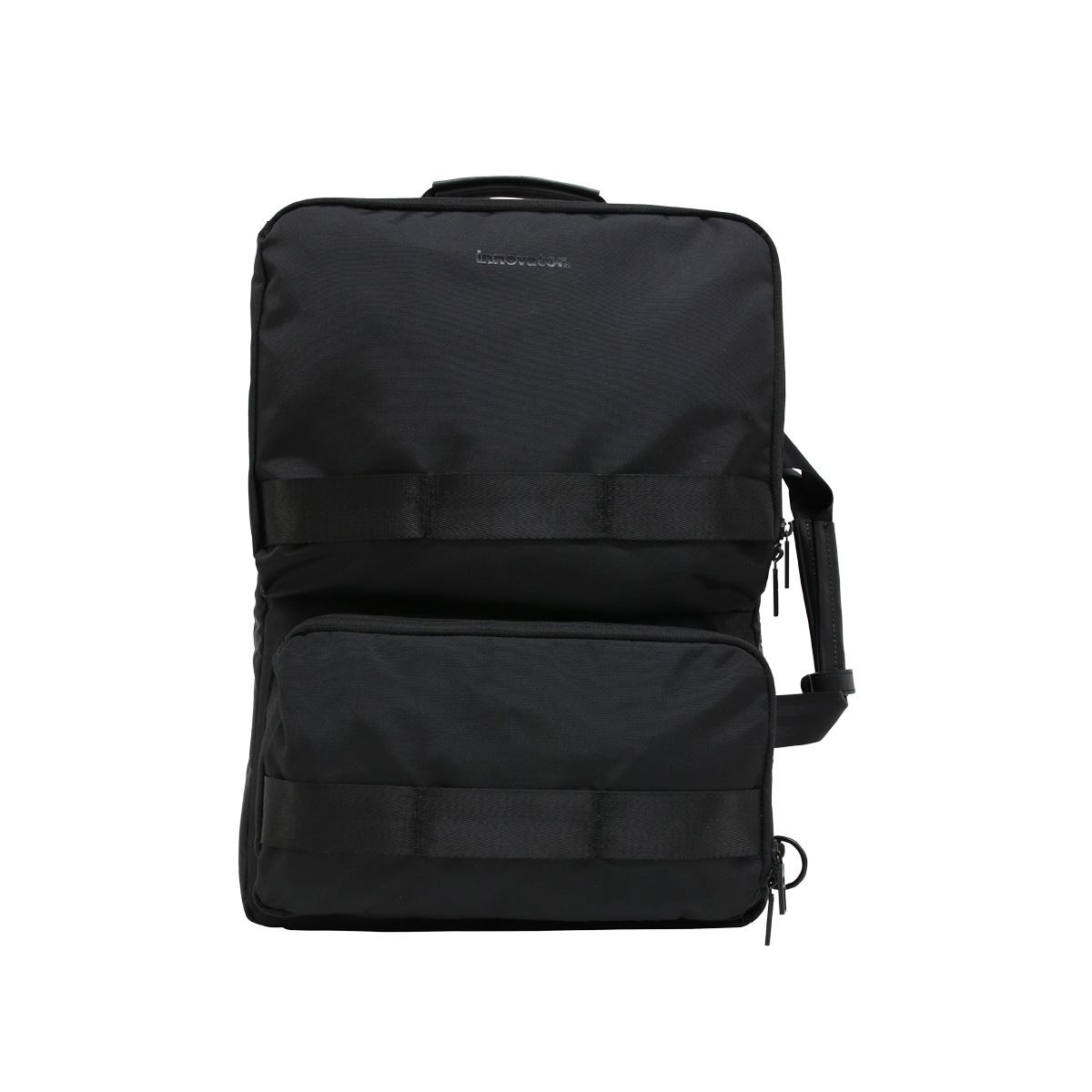 innovator BACK PACK イノベーター バッグ ショルダーバッグ ブリーフケース リュック ビジネスバッグ メンズ 24.2L 3WAY 撥水 ブラック グレー ネイビー 黒 INB-002 [7/22 新入荷]