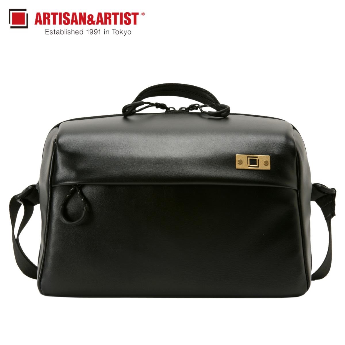 ARTISAN&ARTIST BASALT SLING BAG アルティザン&アーティスト ショルダーバッグ カメラバッグ バッグ メンズ ブラック 黒 ACAM-BS0003