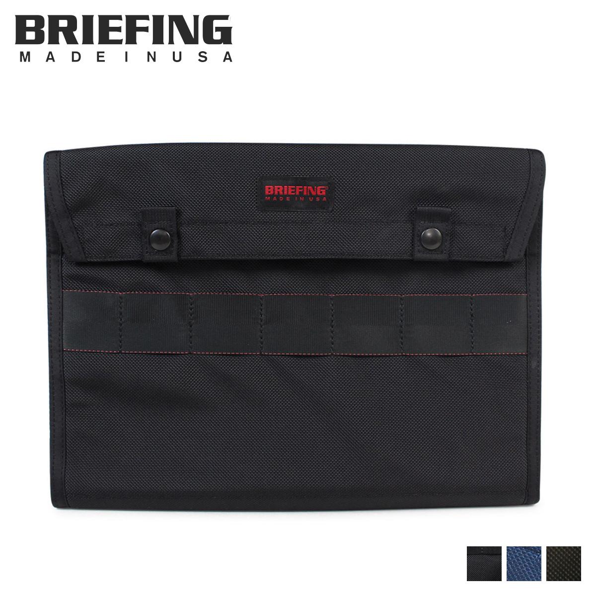 BRIEFING DOCUMENT CASE ブリーフィング バッグ クラッチバッグ メンズ ブラック ネイビー オリーブ 黒 BRF487219