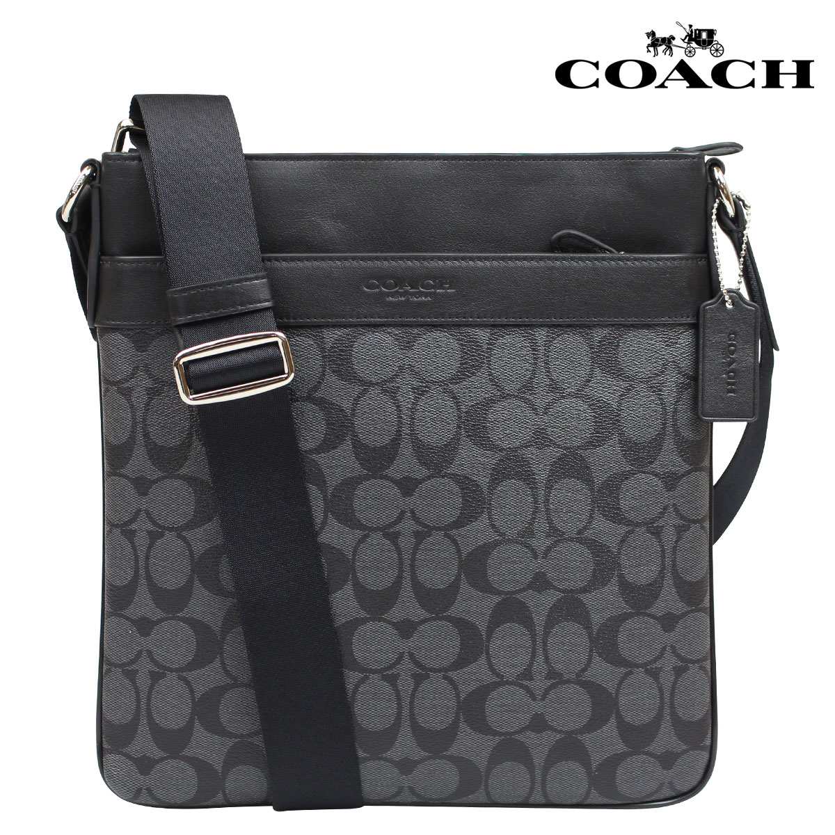 e2c4535701c7 Whats up Sports  COACH coach men s bags shoulder bag F71877 charcoal ...