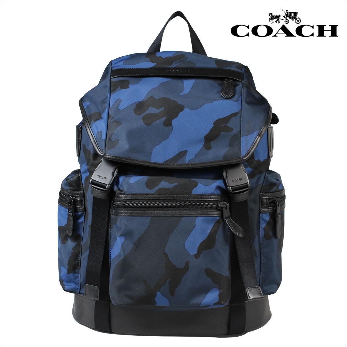 教練教練男裝袋背包背包 F54783 海軍迷彩 [回來的股票 10/4]