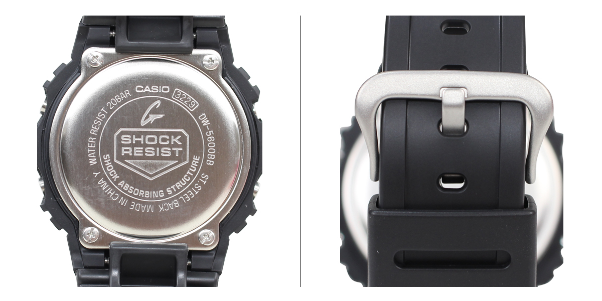 CASIO Casio g-shock watch DW-5600BB-1JF SOLID COLORS