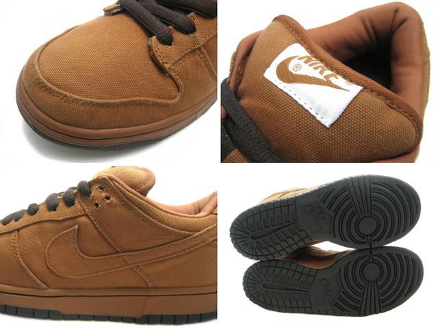 premium selection b587c ff73e NIKE Nike Dunk sneakers DUNK LOW PRO SB CARHARTT dunk low Pro SB Carhartt  gold rail 304292-224 men's Brown