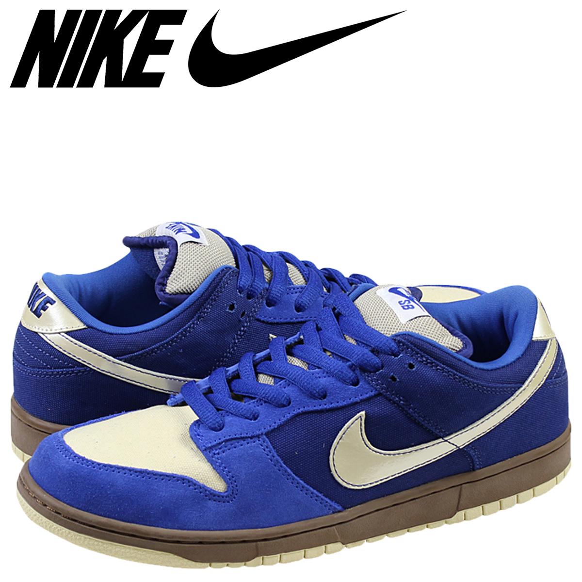 Mens Nike Dunk Low Pro Sb Gold Railshoes Blue Melbourne 304292472 Copuon