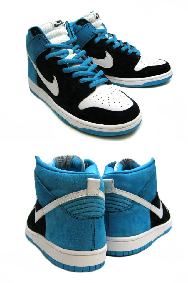 [SOLD OUT] Nike NIKE dunk sneakers DUNK HIGH PRO SB CONSOLIDATED dunk high  professional SB コンソリ 305,050-014 blue men