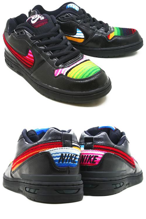 949a71ce897e NIKE Nike zoom air elite sneaker PAUL RODRIGUEZ ZOOM AIR ELITE RAINBOW Paul  Rodriguez 312953-001 black mens