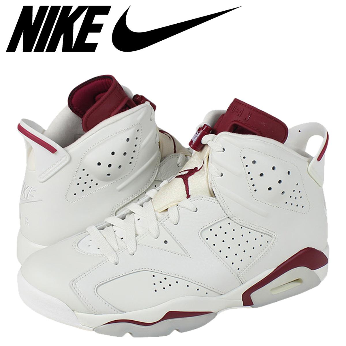 53c6015919e NIKE AIR JORDAN 6 RETRO MAROON Nike Air Jordan sneakers Air Jordan 6  nostalgic 384,664- ...