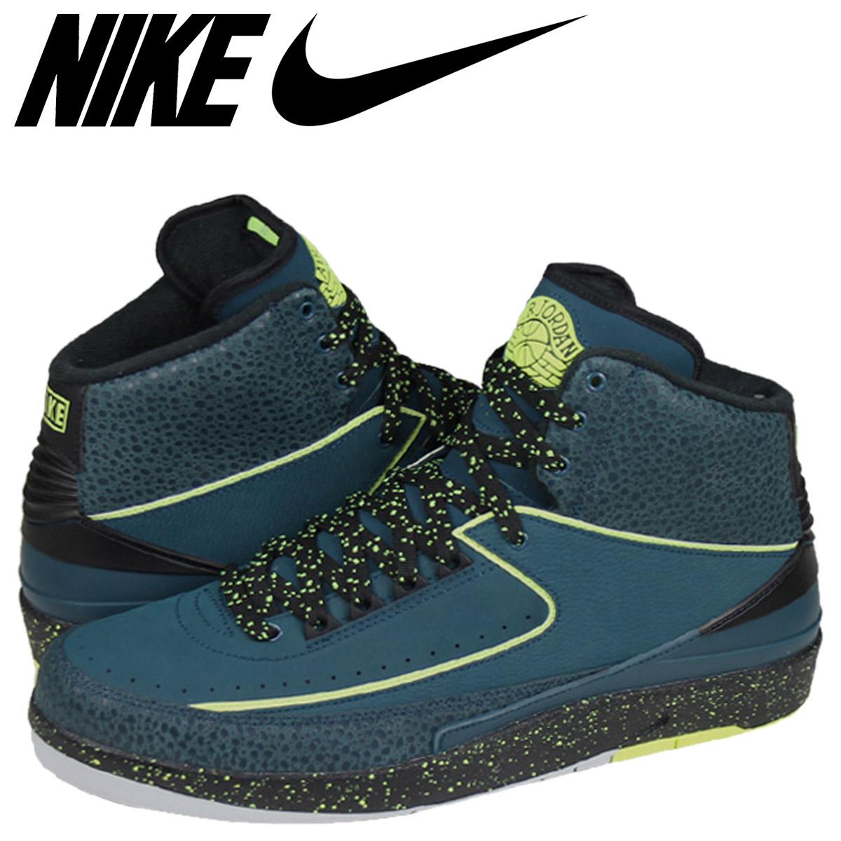 promo code 18746 d9440 NIKE Nike Air Jordan sneakers AIR JORDAN 2 RETRO Air Jordan 2 retro 385475  - 303 green mens