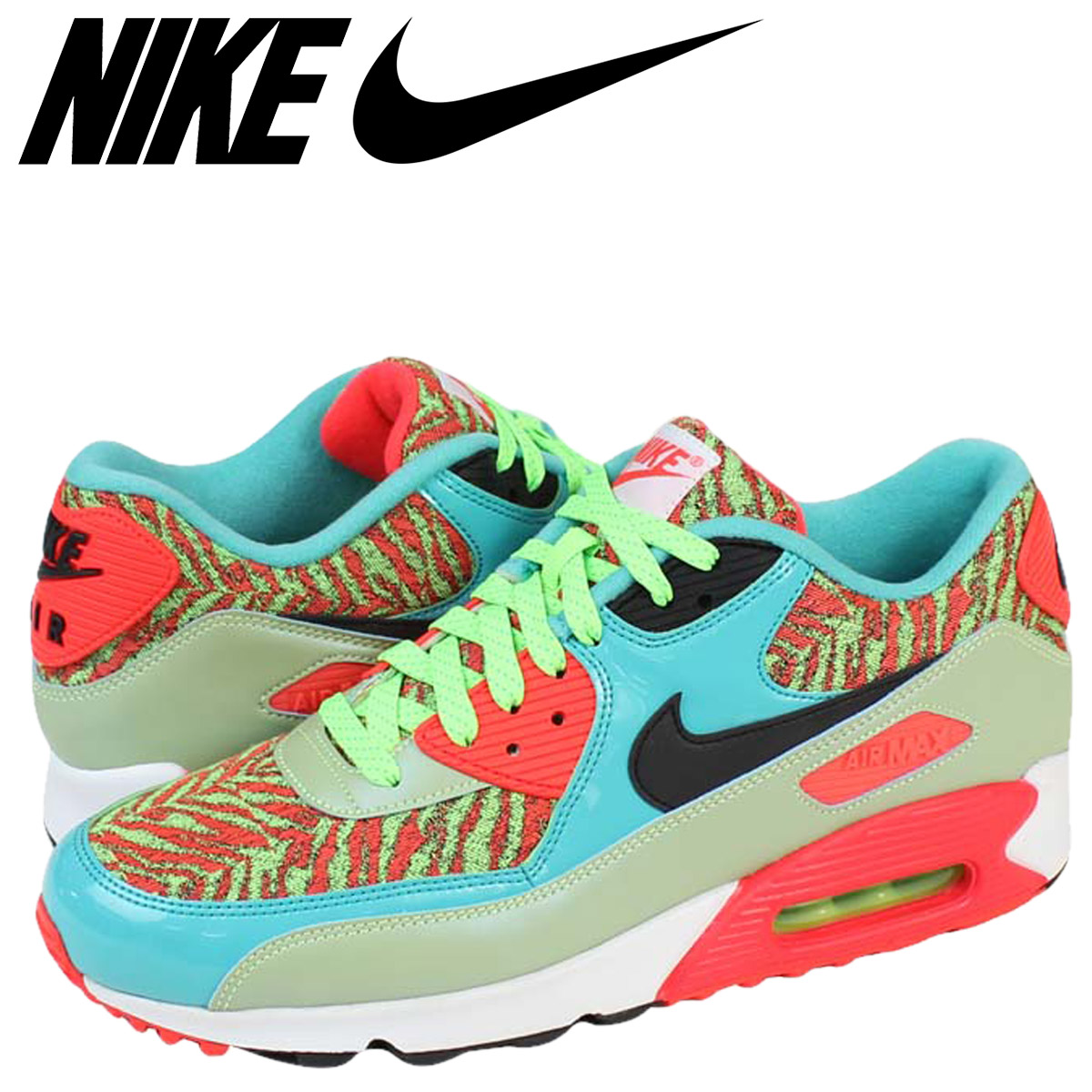 info for f2c5b ce091 NIKE Nike Air Max sneakers AIR MAX 90 ANNIVERSARY Air Max 90 anniversary  725235 - 306 green mens