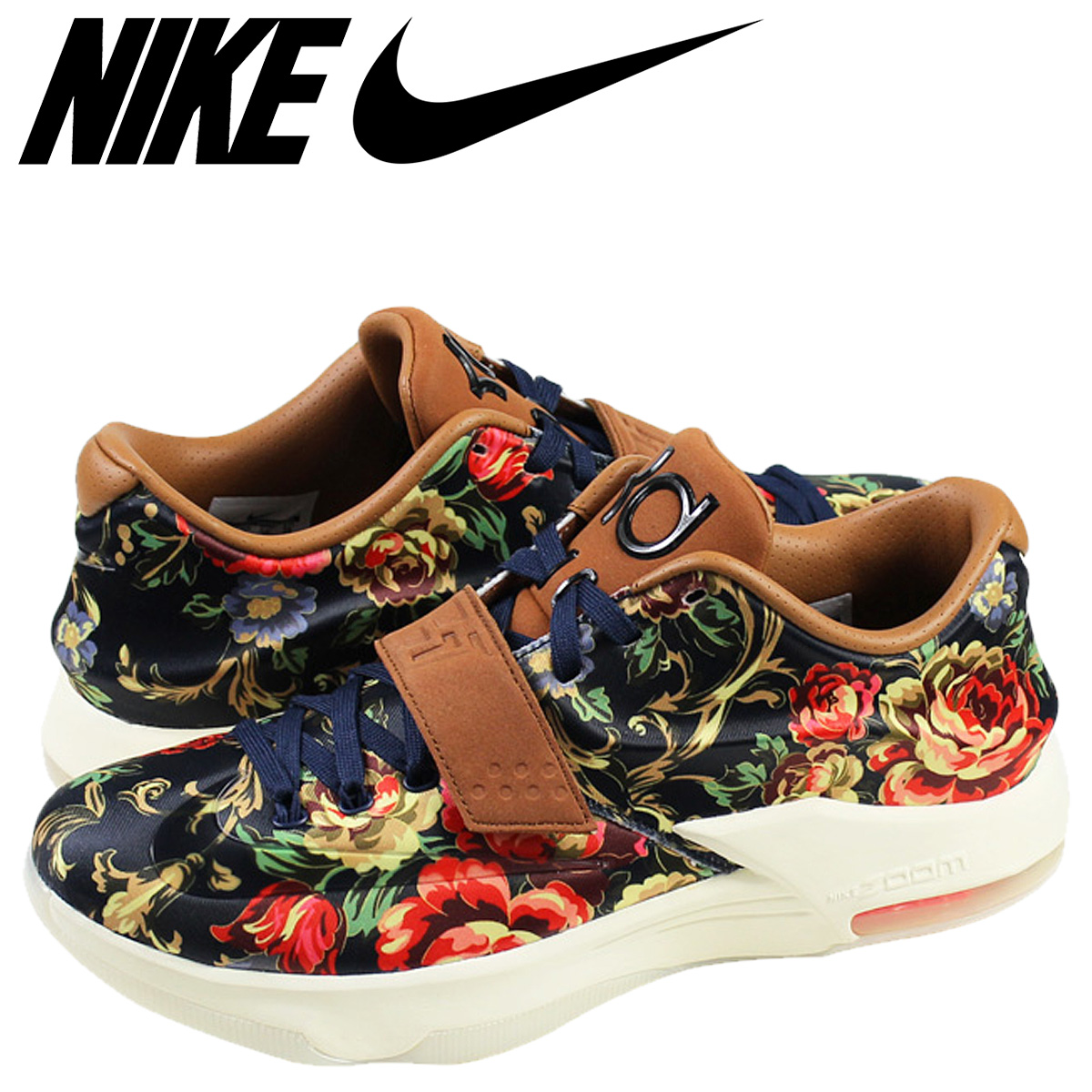 bd8482beaa0 Whats up Sports  NIKE Nike Kay D sneakers KD VII EXT FLORAL QS Kevin ...
