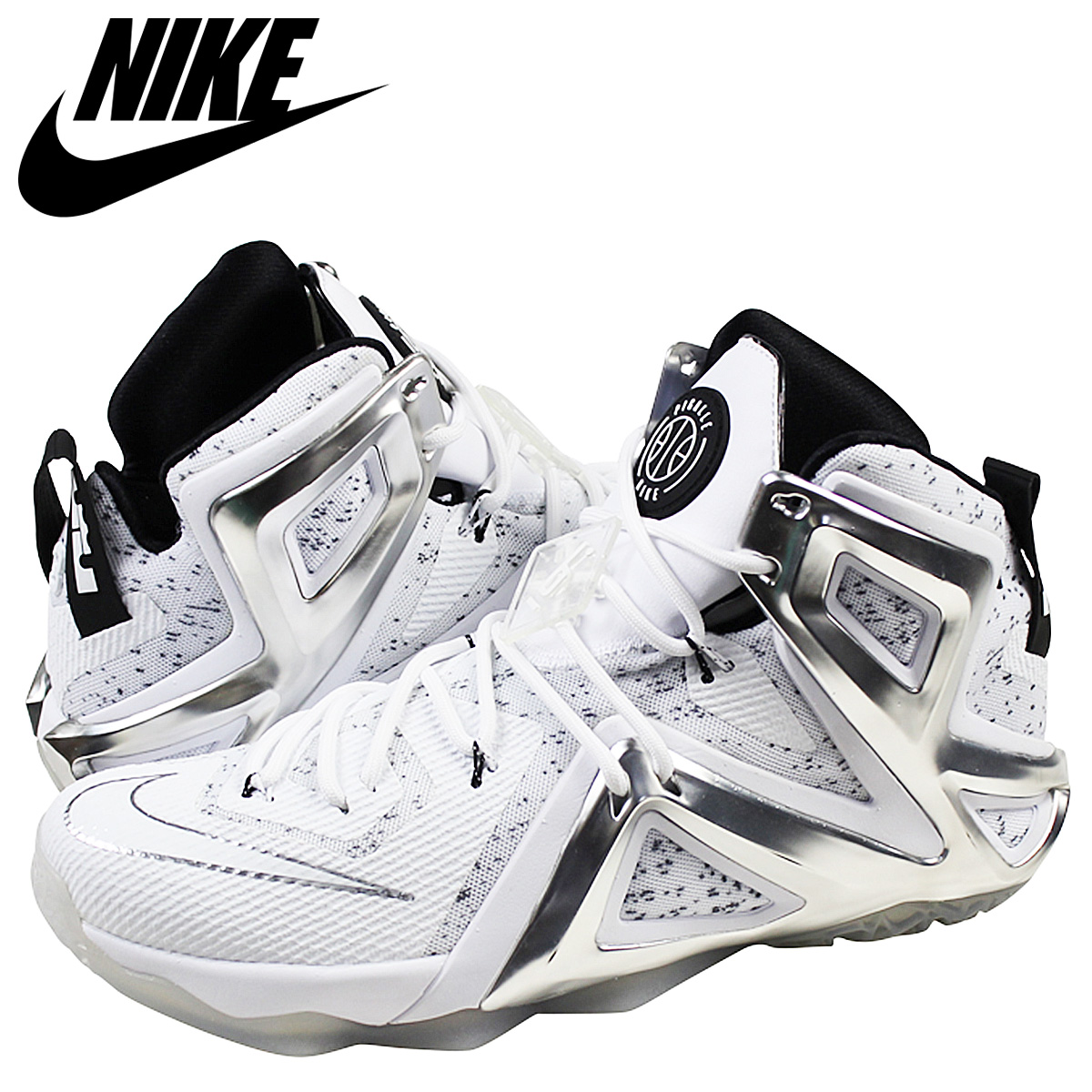 100% authentic 5d2b6 bfedc NIKE Nike LeBron sneakers LAB×PIGALLE LEBRON XII ELITE SP lab Pigalle  LeBron 12 field special 806951-100 white men