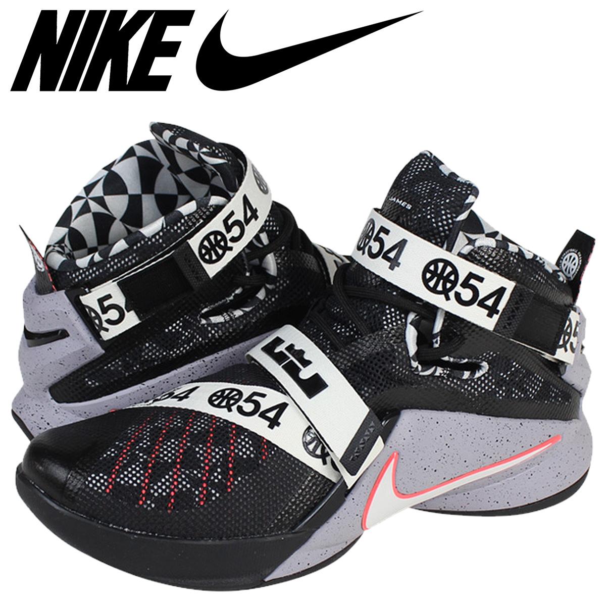 buy popular 9413c f10a7 NIKE Nike LeBron soldier sneakers LEBRON SOLDIER IX LMTD QUAI 54 limited  Quai 54 810803-015 grey men