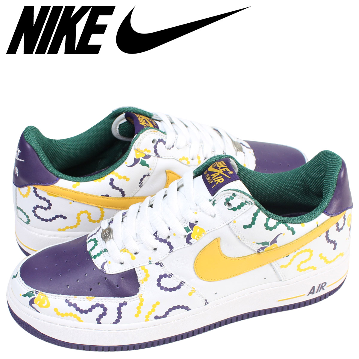 quality design dead3 f6430 Nike NIKE air force 1 sneakers AIR FORCE 1 LOW MARDI GRAS men 306,353-172  ...