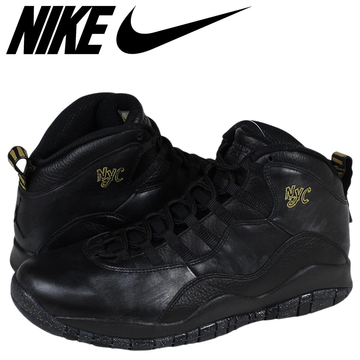 separation shoes e87ff 0f45b NIKE Nike Air Jordan sneakers AIR JORDAN 10 RETRO NYC Air Jordan 10 retro  310805 - 012 black mens