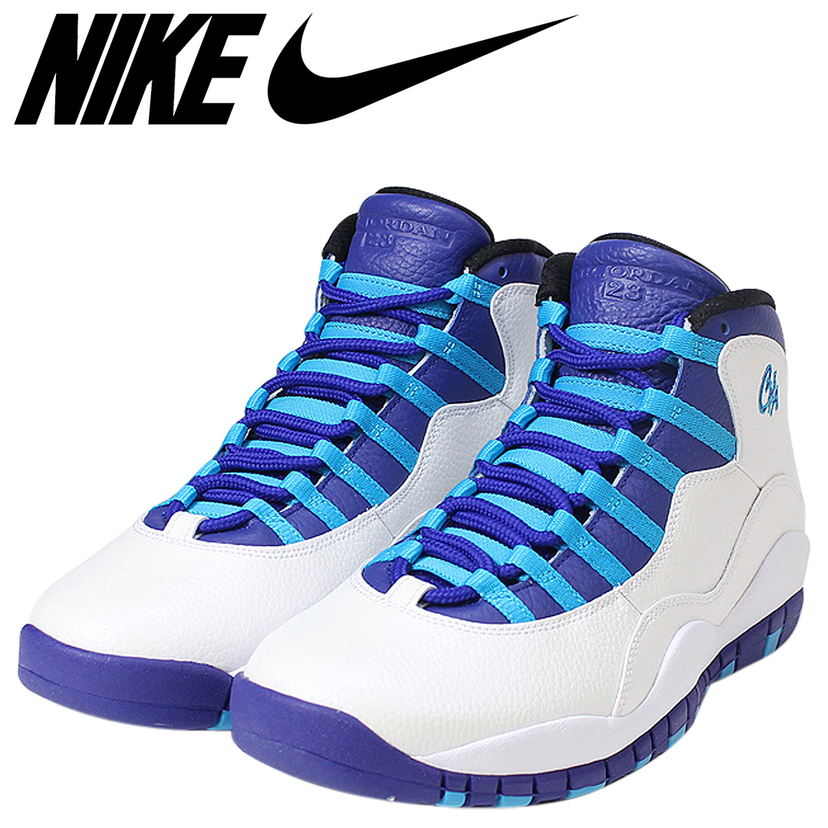 b460f322f47d Whats up Sports  Nike NIKE Air Jordan 10 nostalgic sneakers AIR ...