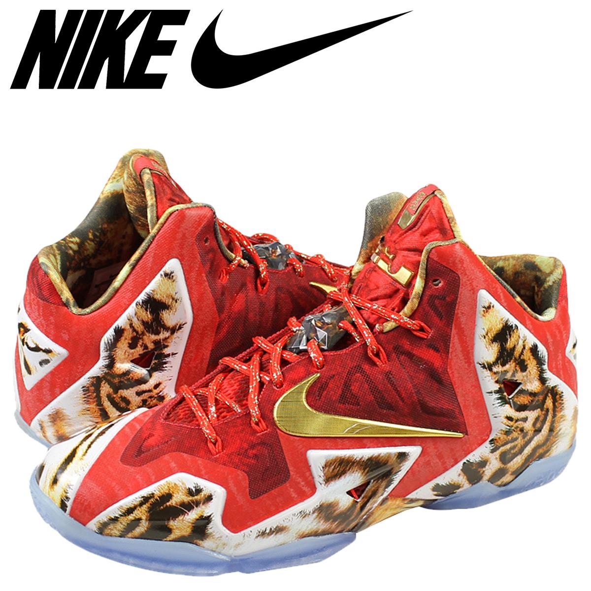 best loved 0db53 2629f NIKE Nike LeBron sneakers NBA 2 K 14 x 11 PRM LEBRON LeBron 11 premium  650884 - 674 red mens