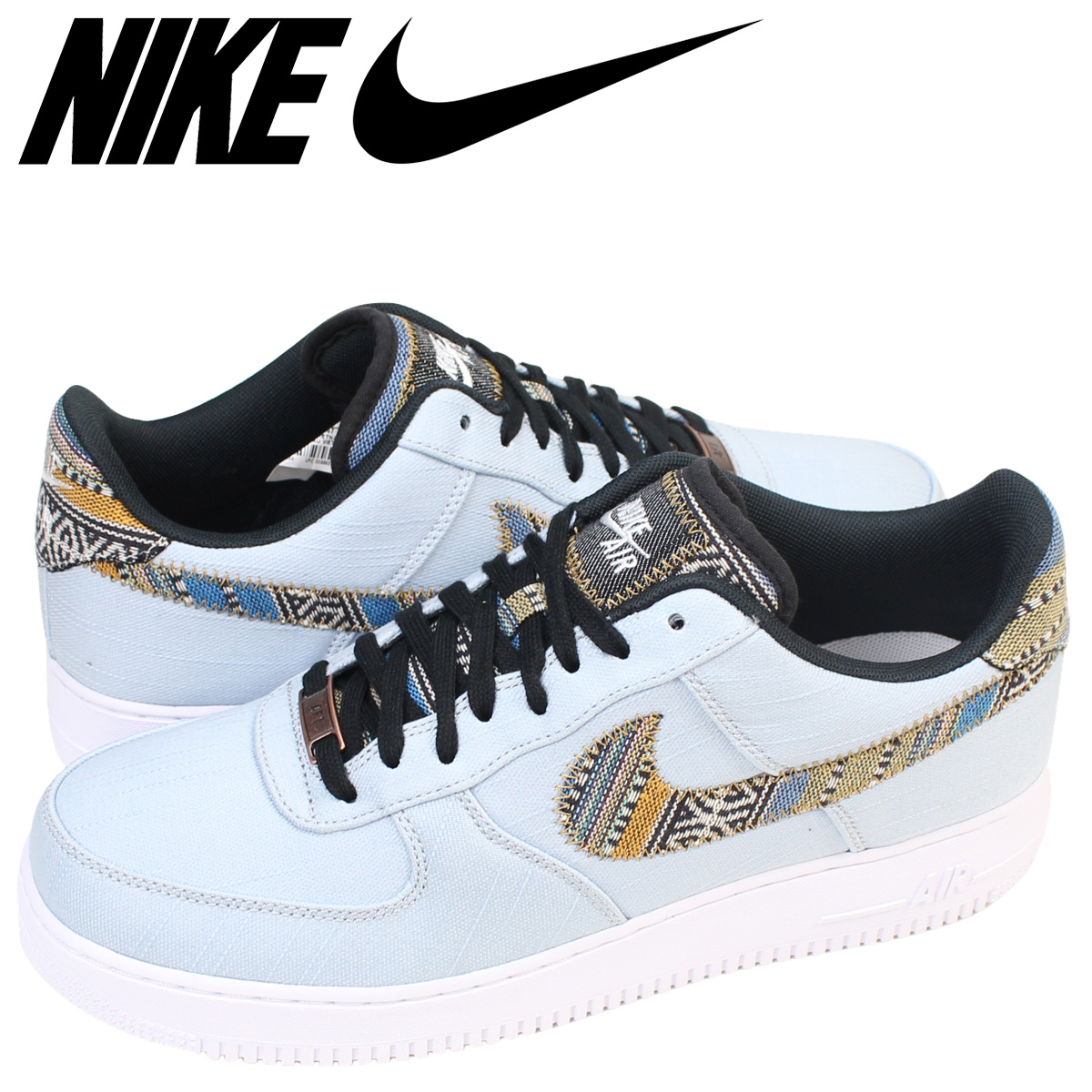 newest 66705 01d64 Nike NIKE air force 1 low sneakers AIR FORCE 1 LOW 07 LV8 LT men  718,152-407 shoes blue