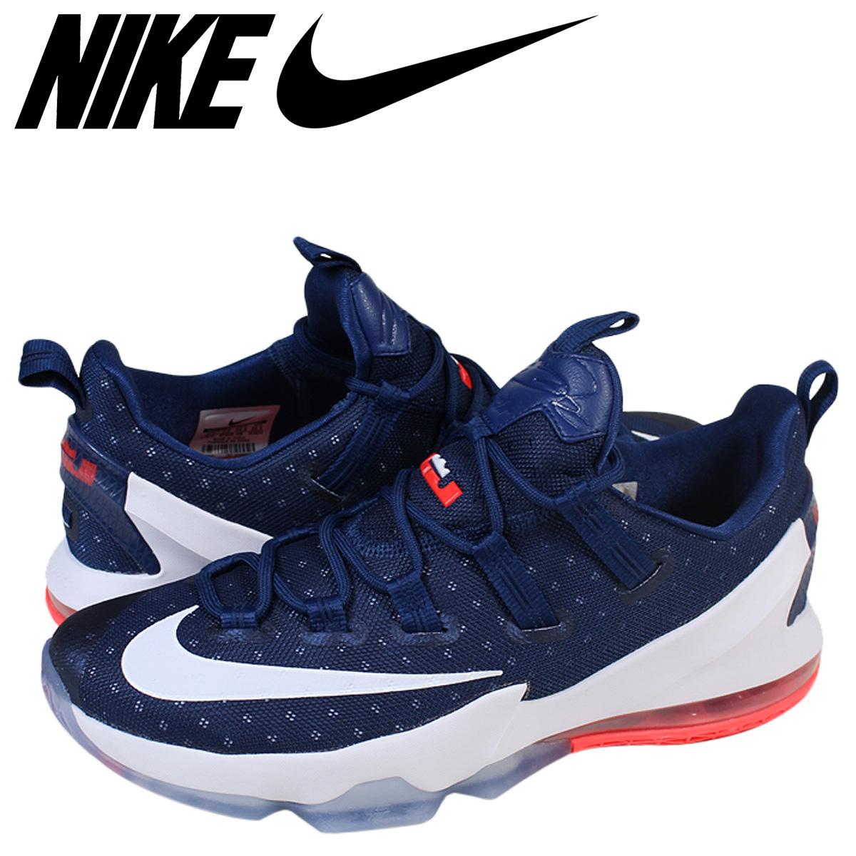 lowest price a5263 84558 Nike NIKE Revlon sneakers men LEBRON 13 LOW EP 831,925-416 navy
