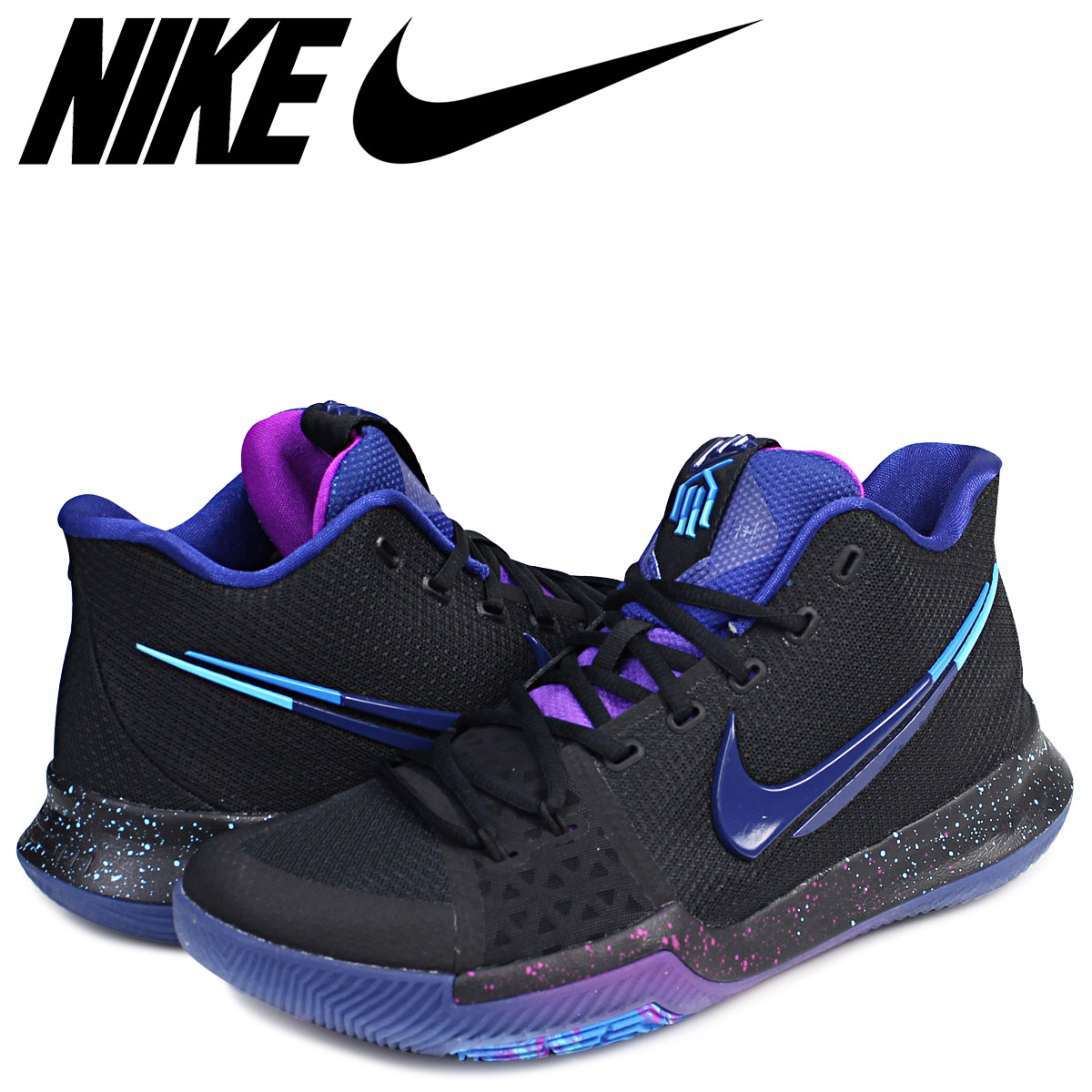 newest a1e0e bbd5c Nike NIKE chi Lee 3 sneakers KYRIE 3 FLIP THE SWITCH 852,395-003 chi Lee  Irving men shoes black