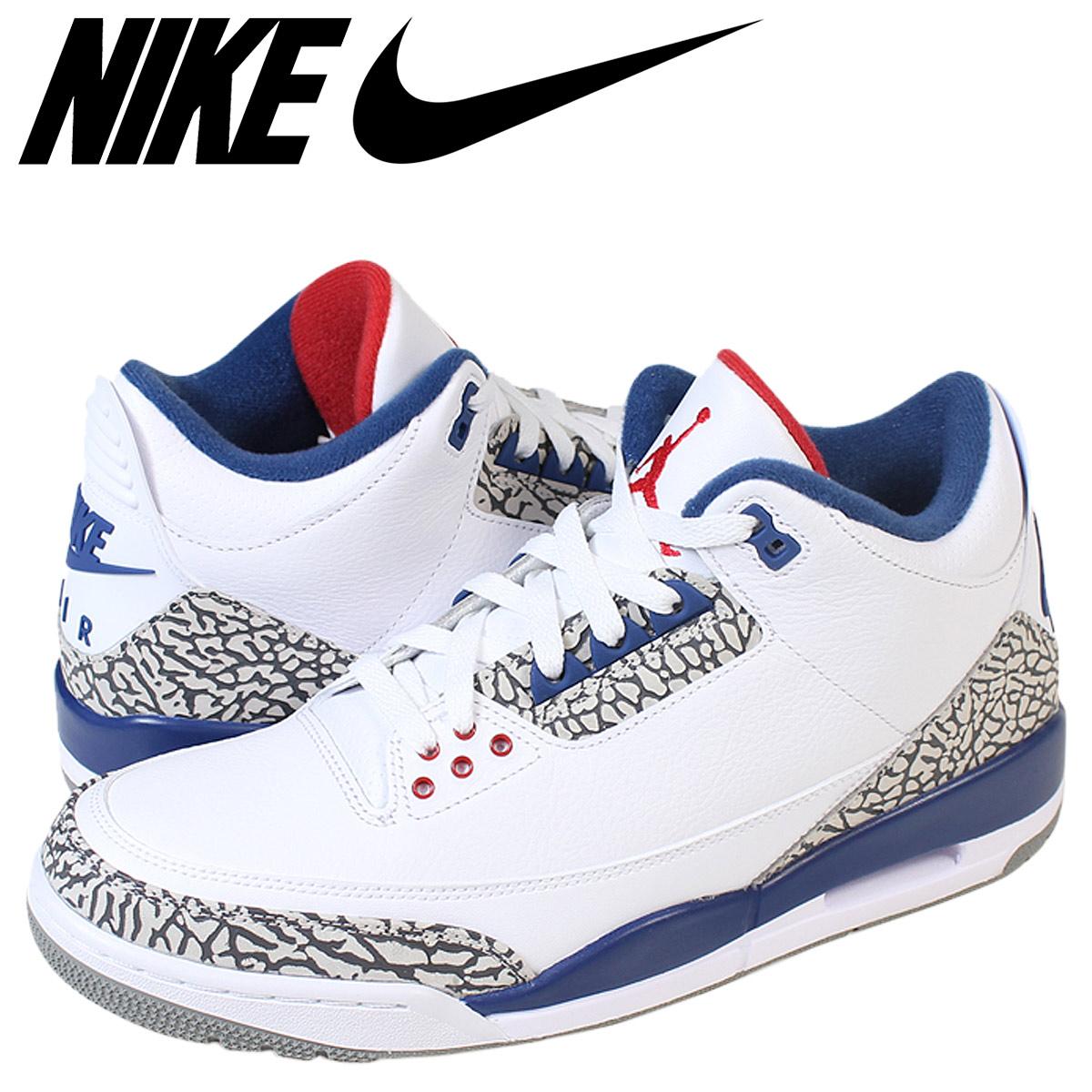 91c21eacc92 Nike NIKE Air Jordan sneakers men AIR JORDAN 3 OG 854,262-106 white ...