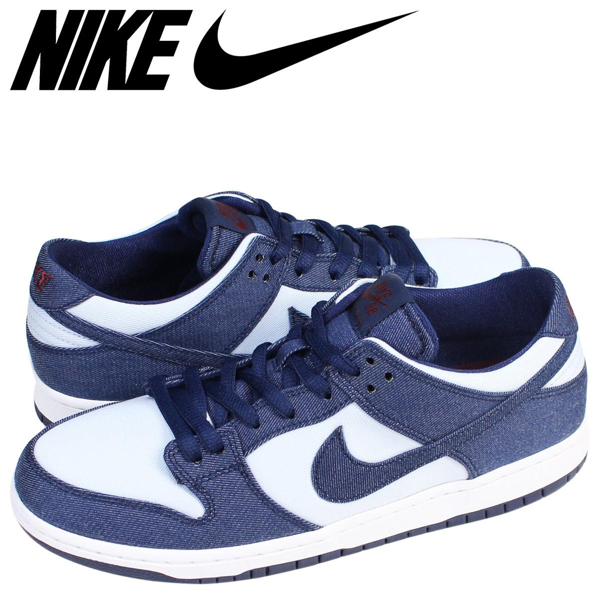 NIKE ナイキ SB ダンク ロー スニーカー ZOOM DUNK LOW PRO BINARY BLUE 854866-444 メンズ 靴 ブルー 【zzi】【返品不可】